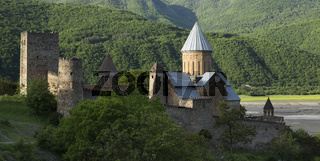Ananuri Fortress With Church Near Tbilisi, Georgia