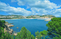 Bucht und Strand von San Feliu