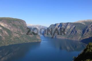 Tranquil scene in Norwegian Fjord