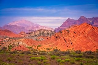 Colourful mountains of Quebrada de Humahuaca