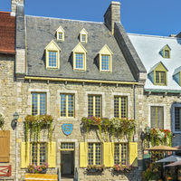 Historic Old Buildings, The Lower Old Town, Quebec City, Canada
