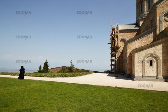 Sighnaghi, Georgien, Kloster Bodbe