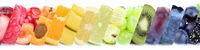 Früchte Frucht Obst Gruppe Sammlung Orange Beeren Äpfel
