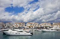 Puerto Banus Marina in Marbella Spain