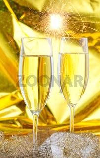 Silvestersekt / new years champagne
