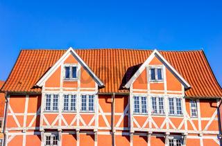 Historisches Fachwerkhaus in Wismar