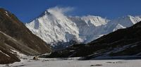Mount Cho Oyu seen from Gokyo, Nepal.