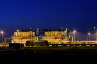 DHL Tanklager am Flughafen Leipzig/Halle