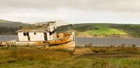 Abandoned Ship Rotting Boat Point Reyes Seashore California