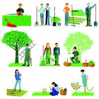 Garten und arbeiten.eps