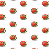 Lot of ripe tomatoes forming a background