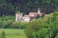 Provaglio Kloster San Pietro in Lamosa - Monastery of San Pietro in Lamosa on the Iseo lake in Italy