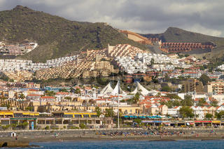 People Enjoying Vacation at Tenerife Island in Spain