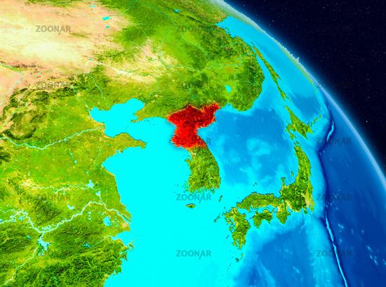 North Korea on Earth