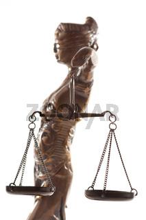 Justitia. Symbol für Gerechtigkeit
