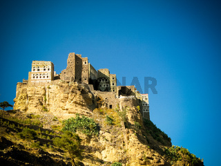 View to Manakha old city, Yemen