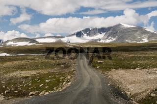 Gipfel des Snohetta im Dovrefjell, Norwegen