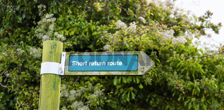 Short return route