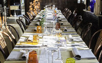 Table in an Italian restaurant