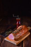 pork tenderloin smoked with herbs