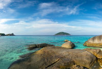 landscape with rocks on Similan islands