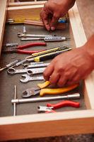 Verschiedene Werkzeuge für den Handwerker