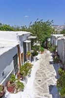 Athens, Plaka, Street view, Acropolis, Greece