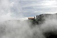 Wolken in den Dolomiten