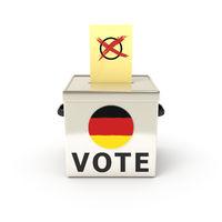 ballot box german election