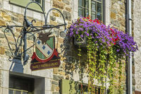 Building In The Lower Old Town Quebec City, Canada