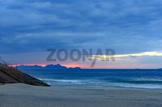 Sunrise at Devil beach