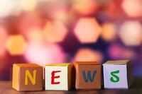 News letter cubes
