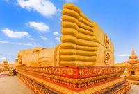 Reclning Buddha. Vientiane, Laos