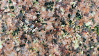 Polierte Oberfläche von einem Herefoss-Granit, Makroaufnahme