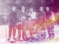 ice hockey players team