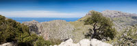 Panorama of the Serra de Tramuntana