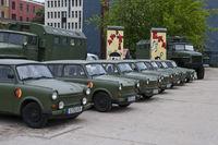 Alte DDR Armeefahrzeuge der Marke Trabant, Berlin, Deutschland | Old GDR Army vehicles of the brand Trabant, Berlin, Germany
