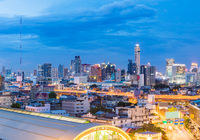 Panorama Bangkok Central Train Station