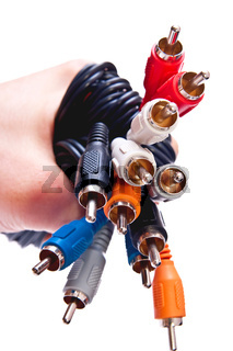 Connectors in hand