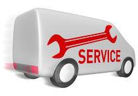 Lieferwagen service