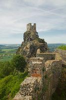 Trosky castle ruin