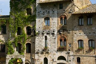 San Gimignano, Stadt aus dem Mittelalter, Toskana, Italien