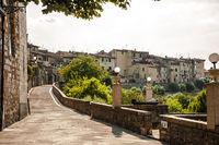 Aussenansicht von Col di Val d`Elsa, Toskana, Italien