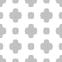 Geometric Seamless Ornamental Pattern