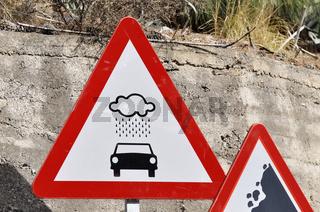 Schlechte Zeiten für Cabriofahrer