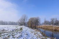 Winter an der Dinkel bei Nienborg
