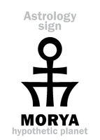 Astrology: planet MORYA