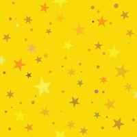 Golden Stars pattern swatch