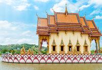 Buddhism temple on Samui Island, Thailand