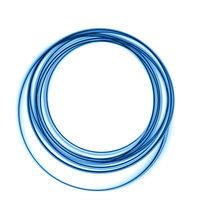 blue circular lines